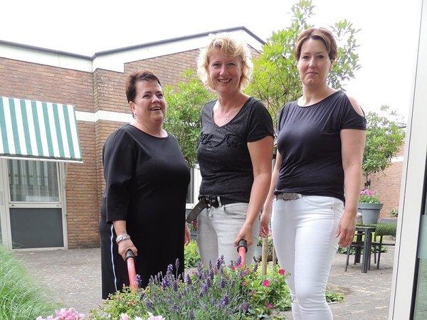 Ook na 25 jaar halen Carolien, Agnes en Brenda nog veel voldoening uit hun werk