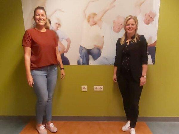 Annelot en Carine werkten mee aan het project Up&Go: 'Optimale zorg voor kwetsbare ouderen met een heupfractuur'