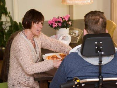 Ondersteuning op het hospice