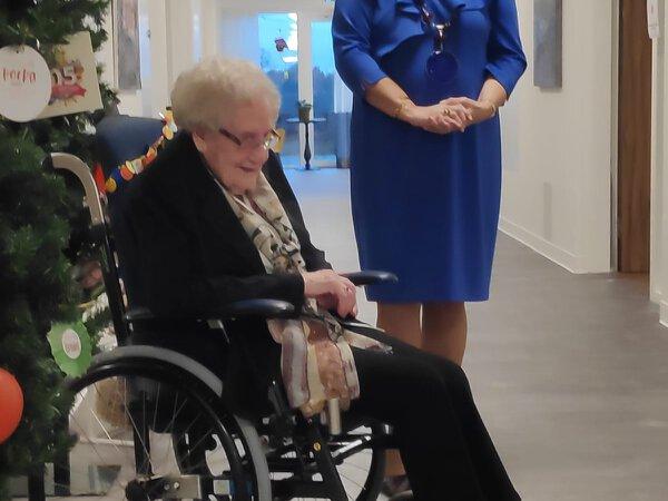 Marie Wesselink 105 jaar