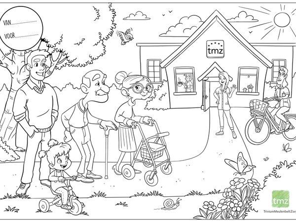 TMZ vraagt kinderen om het leven van ouderen te kleuren