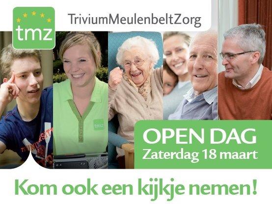 Open dag op zaterdag 18 maart