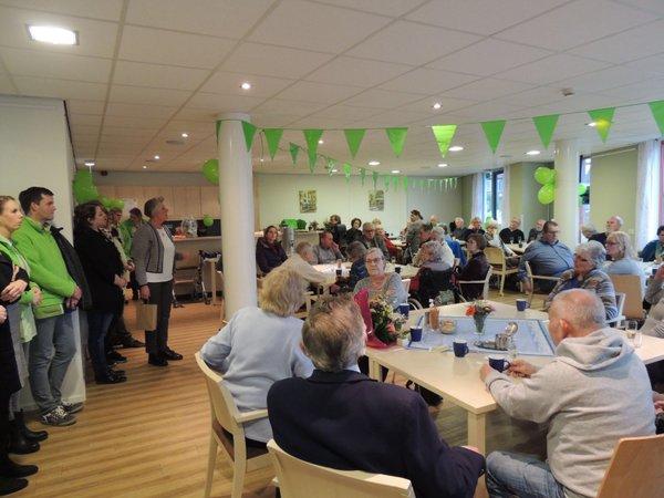 Opening nieuw wijksteunpunt en kantoor wijkteam in Hasseler Es dubbelslag TMZ