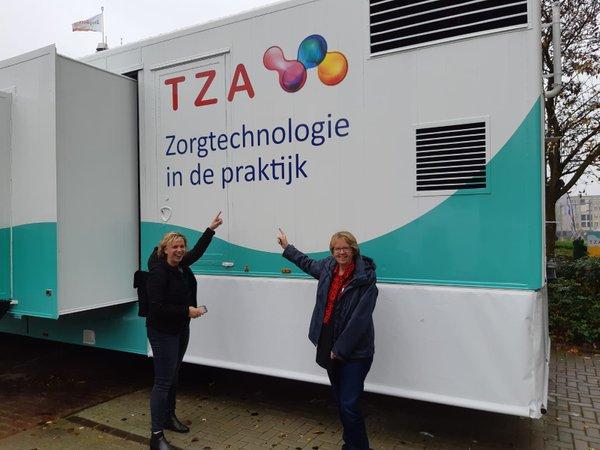 TMZ gebruikt probeerservice TZA