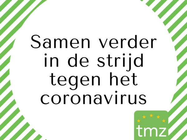 Samen verder in de strijd tegen het coronavirus